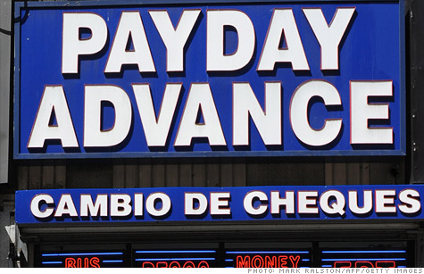 Payday Loans Filling the Void